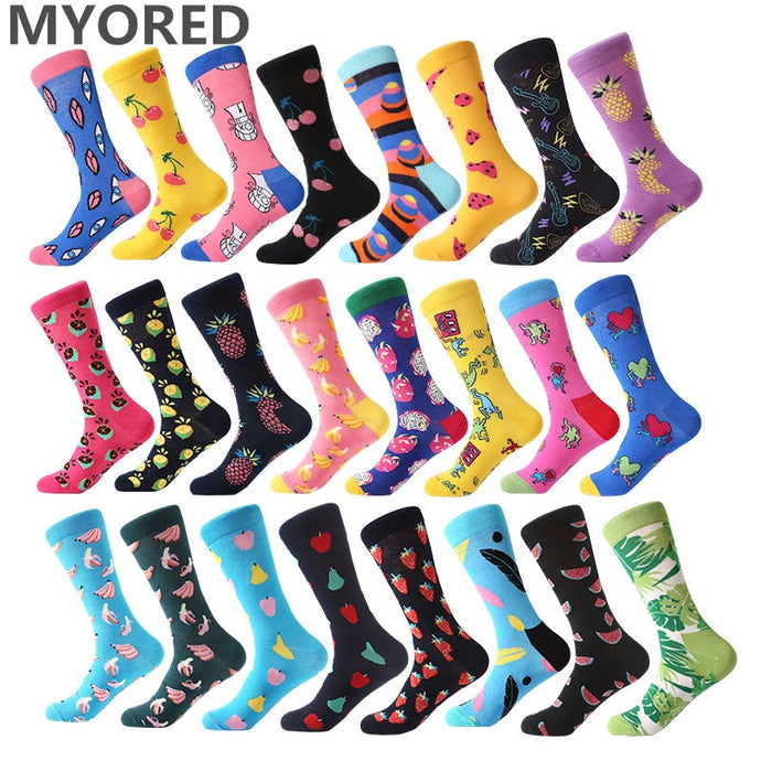 Funny and Colourful Cotton Unisex Socks