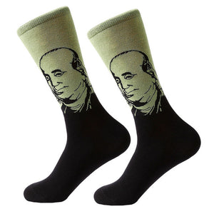 Famous Oil Painting Series Socks