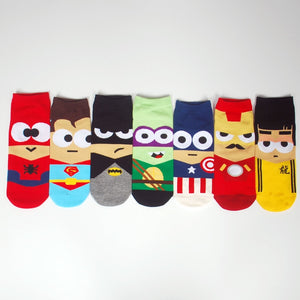 Marvel Hero Socks