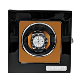 Arcanent 1 Slot Watch Winder Black Quality Made w/ Ball Bearings