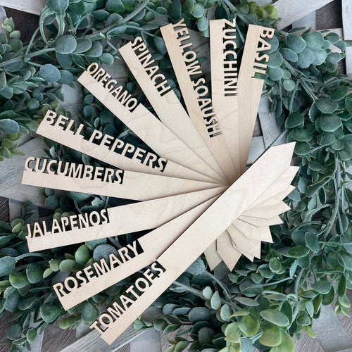 Garden Markers (set of 10- You Pick!)