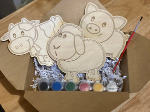 Farm Animal DIY Craft Pack