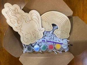 Unicorn and Rainbow DIY Craft Pack