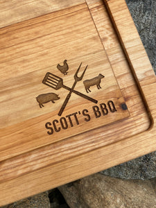 16x20 cutting board with farm animal logo | personalized | grill | meat | bbq