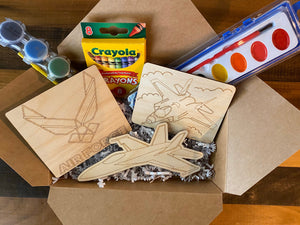 Air Force DIY Wooden Craft Pack