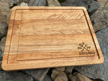 Load image into Gallery viewer, 16x20 cutting board with farm animal logo | personalized | grill | meat | bbq