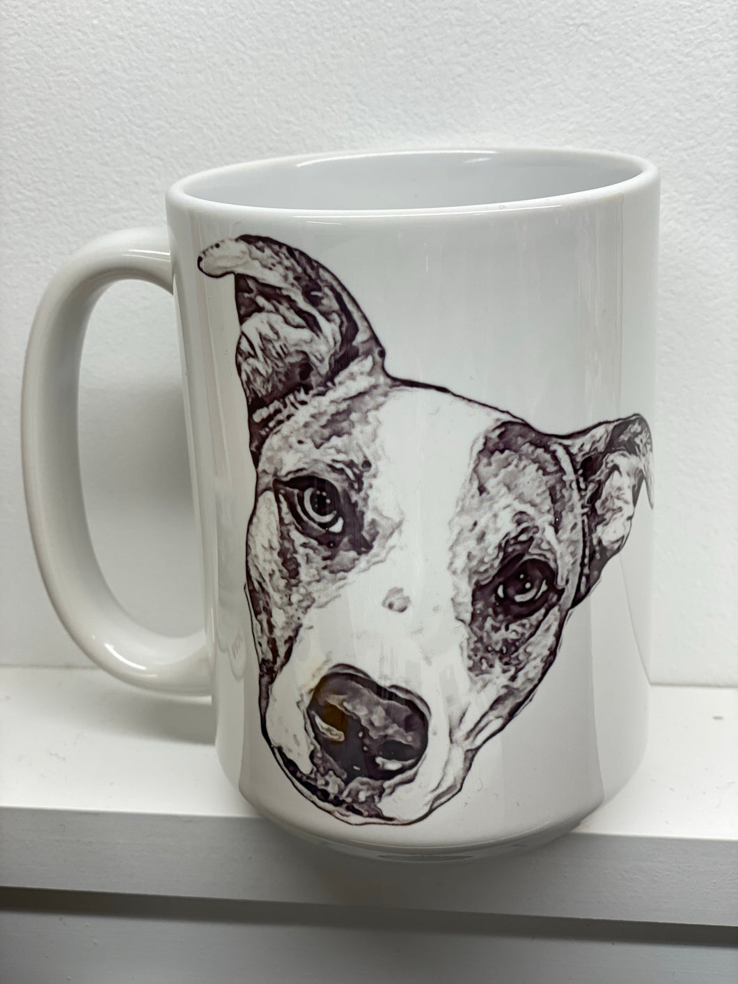 Put a sketch of your pets photo on mug!