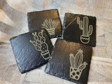 Load image into Gallery viewer, Slate Cactus Coasters
