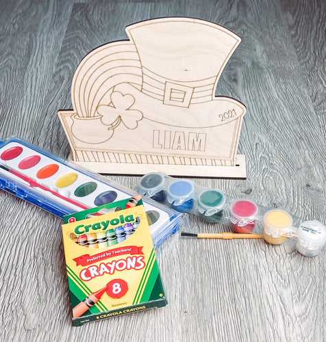 Personalized St Patrick's Day Stand Up DIY Kit