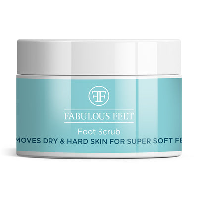 Foot Scrub Removes Dry and Hard Skin for Super Soft Feet