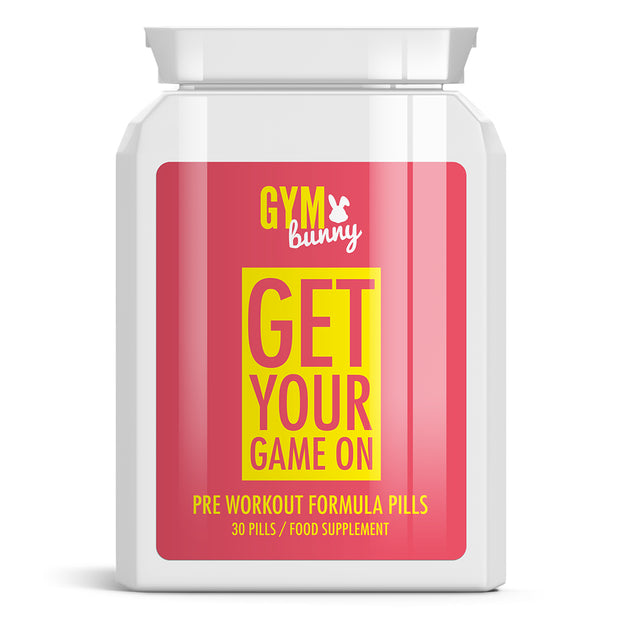 Get Your Game On Pre Workout Formula Pills