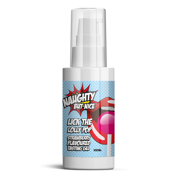 Lick The Lolly Pop Strawberry Flavours Tasting Gel