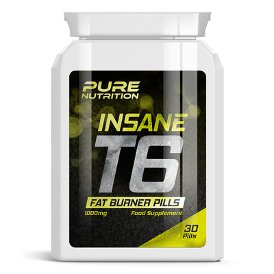 T6 Insane Fat Burner Pills