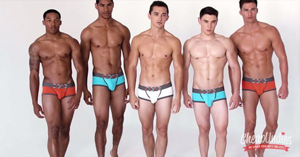 7 Sexy Male Models Wearing CORE underwear