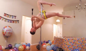 Funniest Happy Birthday: Clarinet Stripper Pole Dance!