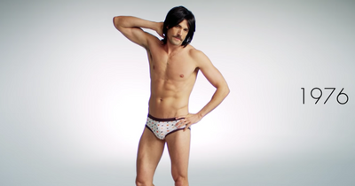 VIDEO:  100 Years of Men's Underwear