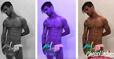 VIDEO:  The Naked Easter Bunny & His Mystery Grab Bags