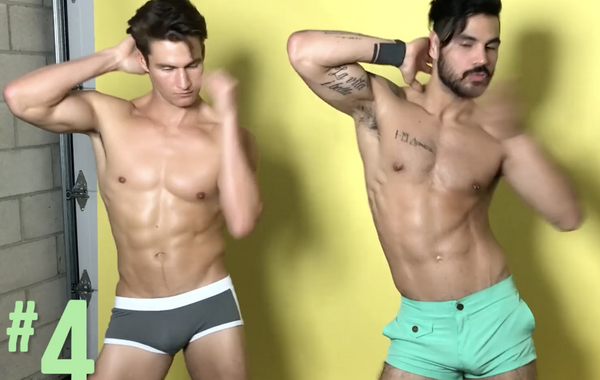 VIDEO-Sexy Boys:  How Many Dance Moves Can You Name?