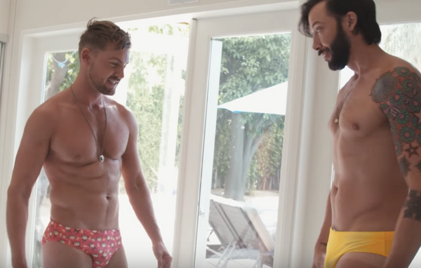 VIDEO: POOL BOYS Fall in LOVE: Happy Pride 2017