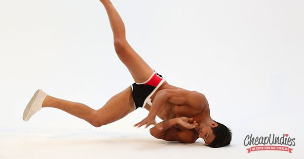 The Naked Break Dancer: Featuring Asaf Goren (SYTYCD)