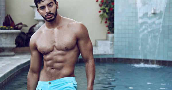 "Laith Ashley Strips Down for ""Pool Boy"" by CheapUndies.com"