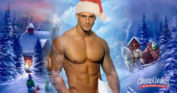 PHOTOS:  Sexy Santas Are Bringing You Lots of Packages