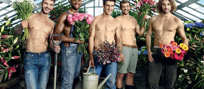 PHOTOS!  Spring Has Arrived!  Celebrate with Sexy Men & Flowers!