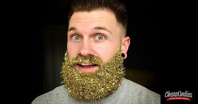 TREND ALERT!  Glitter Beards:  Perfect for the Holidays?