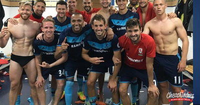 Professional Soccer Player Poses For 'Viral' Dressing Room Photo With His Balls Out