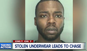VIDEO:  Man Steals Underwear and Takes Police on a Wild High Speed Chase!
