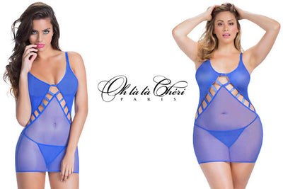 Oh La La Cheri Lace And Fishnet Collection