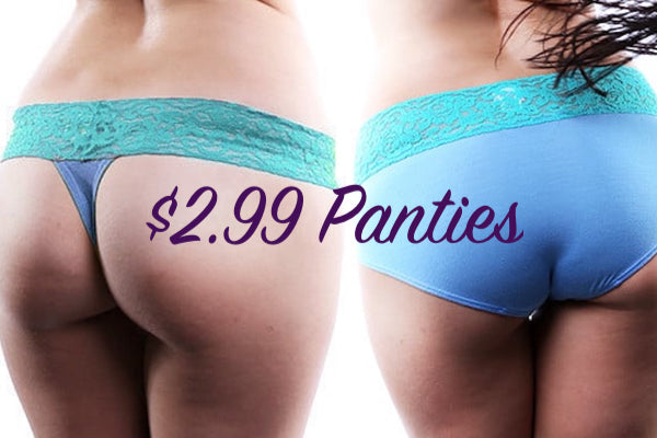 Jezebel $2.99 Panties