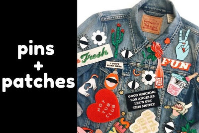 Fashion Pins & Patches