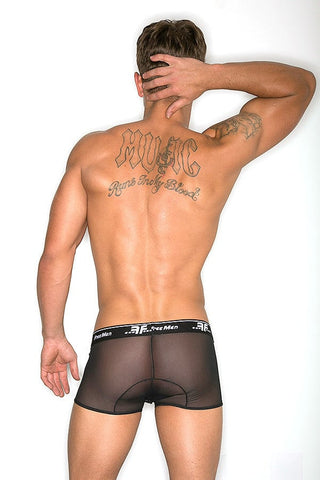Freemen Black Sheer Cotton Cup Boxer