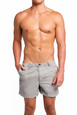 Trend Grey Campus Shorts