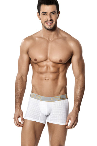 Clever White Spinel Boxer Brief