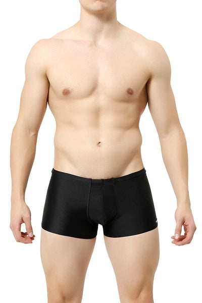 Manview Black Swim Hotshorts