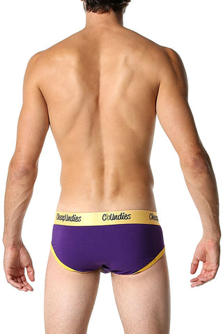 Purple & Gold Luxe Brief