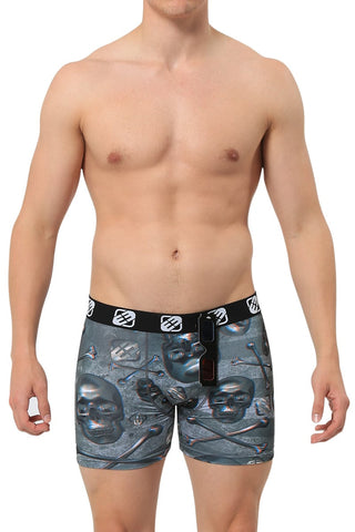 Freegun 3D Skull 'N' Crossbones Boxer Brief