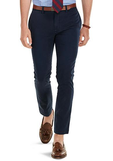 Polo Ralph Lauren Navy Chino Slim Fit Pants