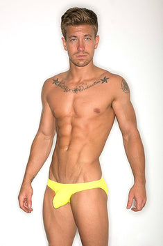 CheapUndies Yellow Enhancement Swim Bikini