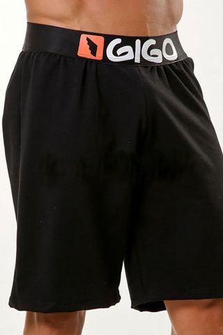 Gigo Black Logo Short