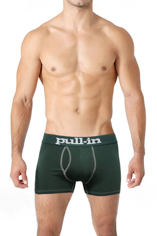 Pull-In British Green Logo Shorty Trunk