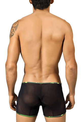 Candyman Black Mesh Camo Boxer Brief