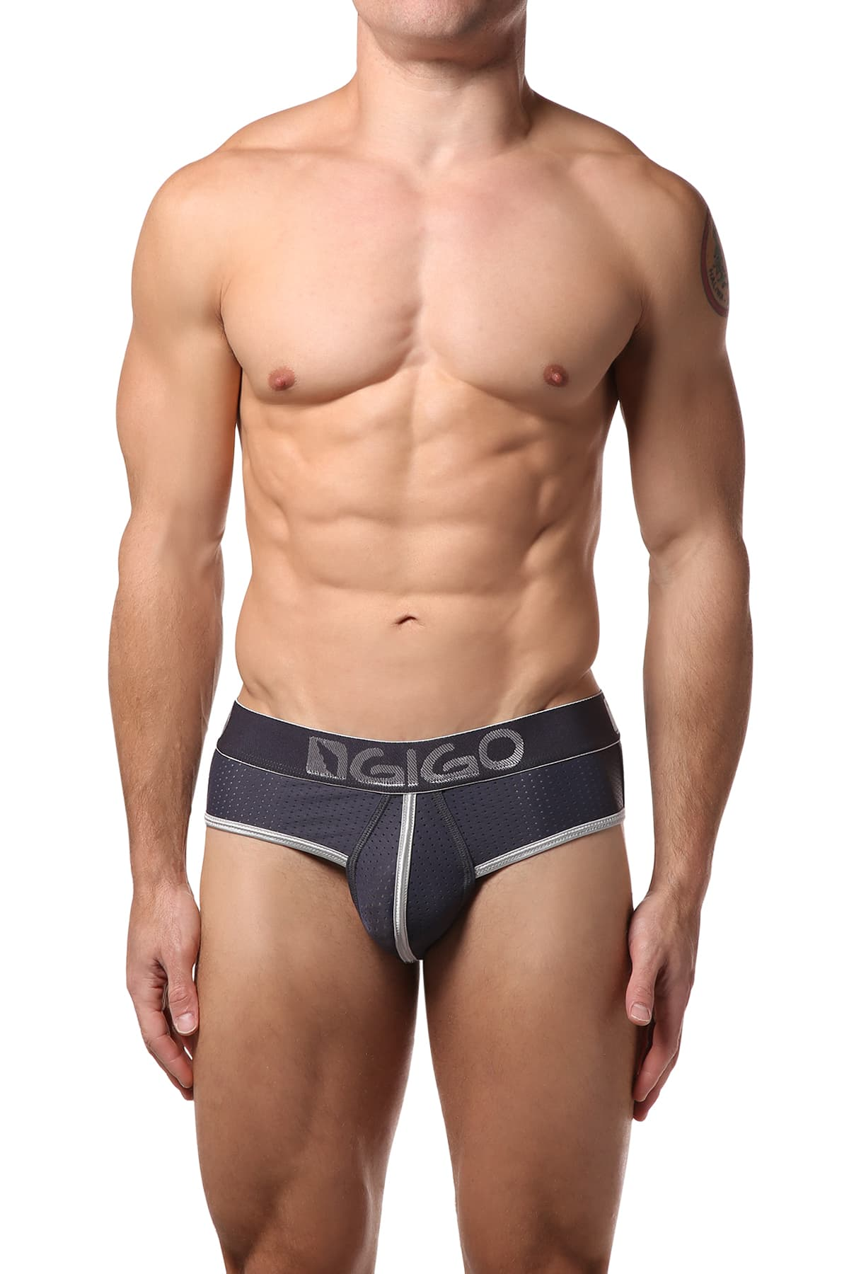 Gigo Grey Hollow Jock Brief