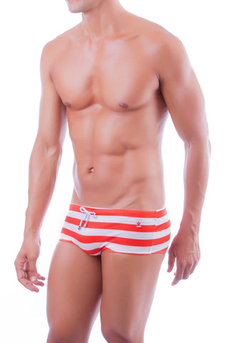 Jor Red Lines Swim Brief