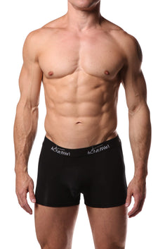 Activeman Black Modal Boxer Brief