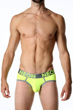 CheapUndies Neon Yellow Brief