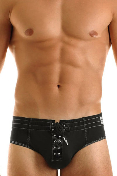 Modus Vivendi Black Denim-Look Brief