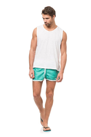 Frank Dandy Mint Saint Paul Swim Short